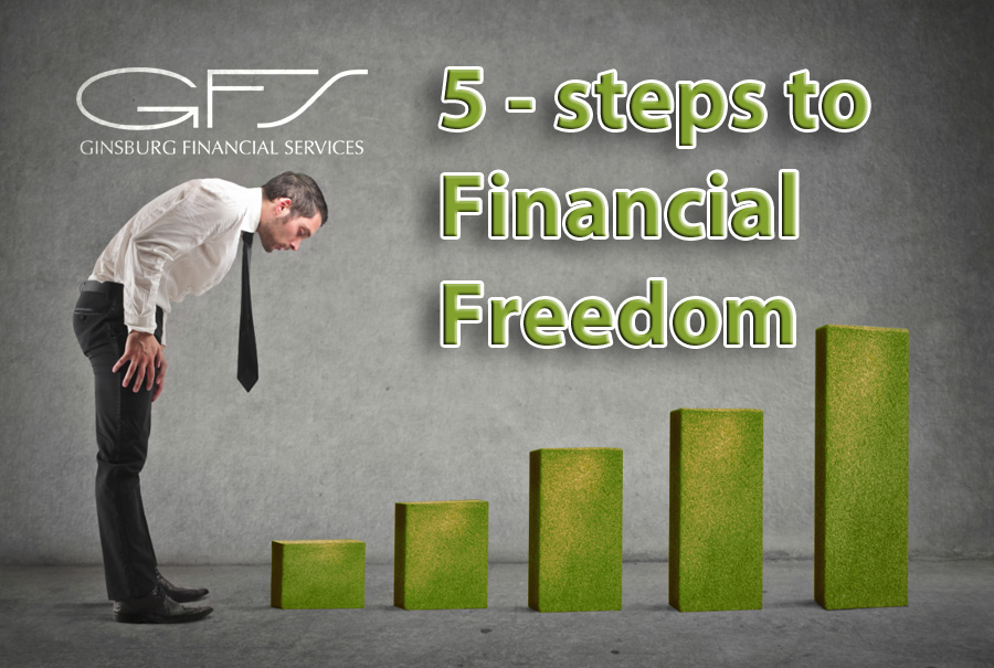 Five steps to financial freedom