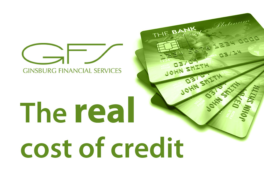 Real cost of credit