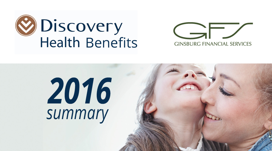 Discovery Health Benefits 2016
