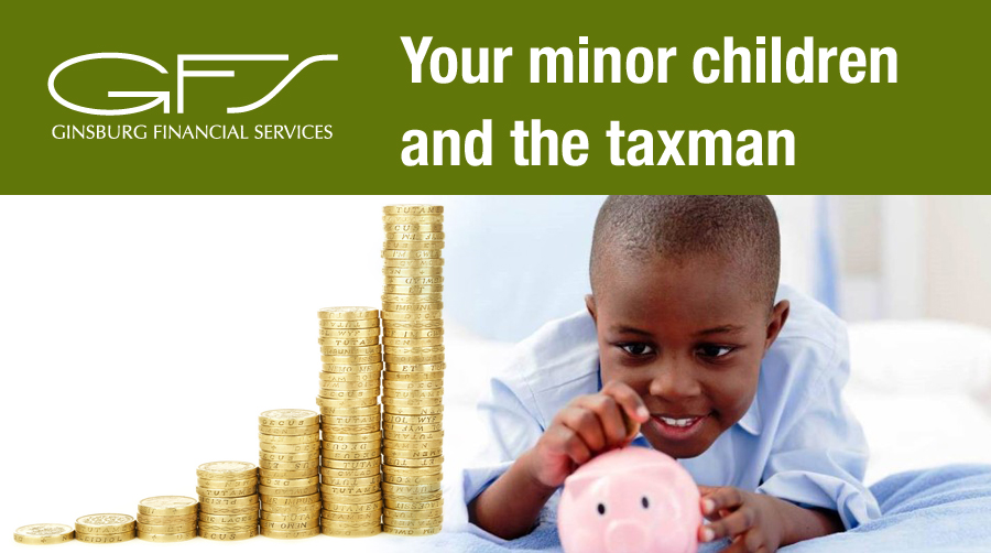 Your minor children and the taxman