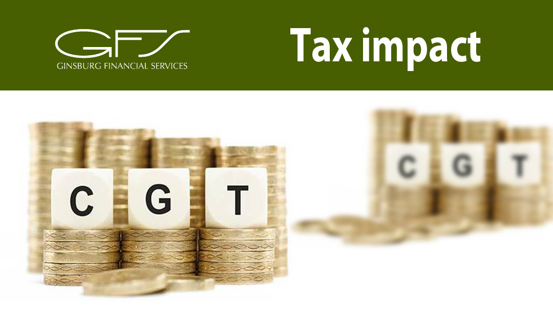 Tax impact – Capital Gains Tax