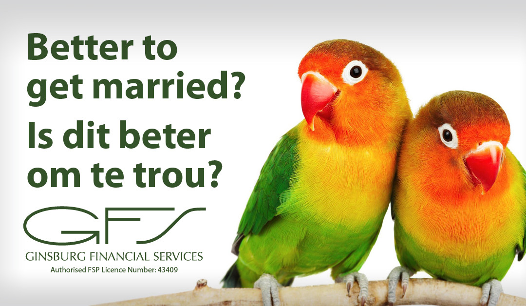 Is it better to get married?