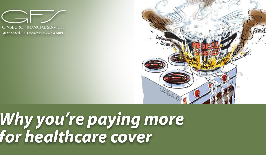 Why you're paying more for healthcare cover
