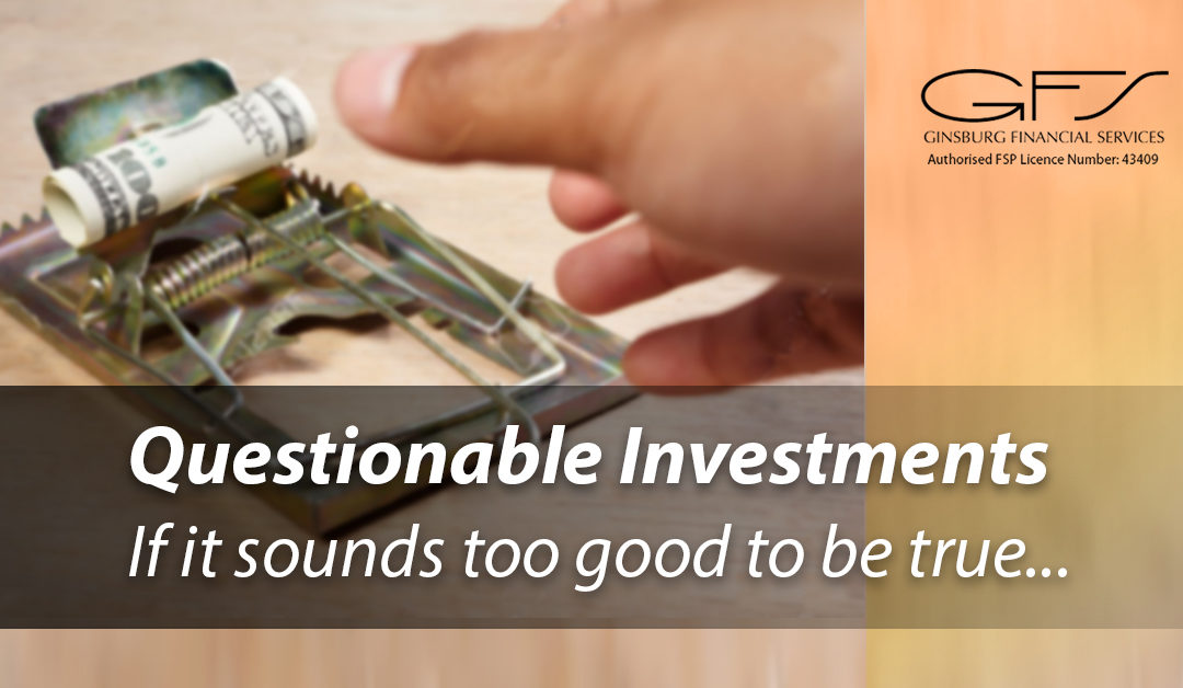 Questionable Investments
