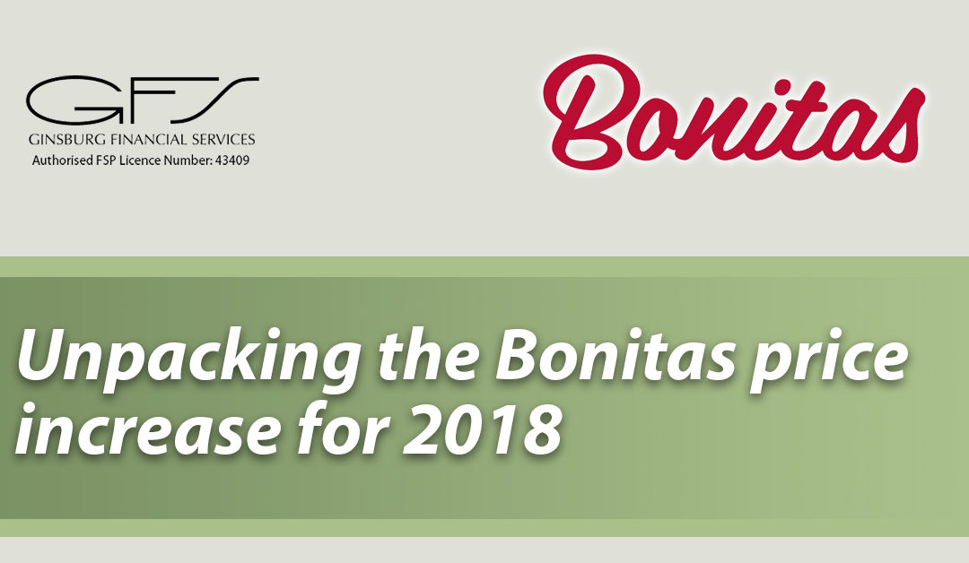 Unpacking the Bonitas price increase for 2018