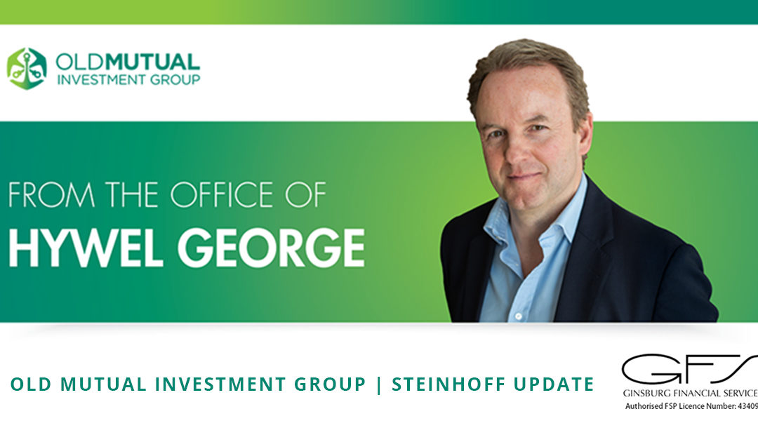 OLD MUTUAL INVESTMENT GROUP | STEINHOFF UPDATE