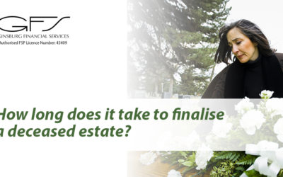 How long does it take to finalise a deceased estate?