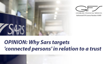 OPINION: Why Sars targets 'connected persons' in relation to a trust