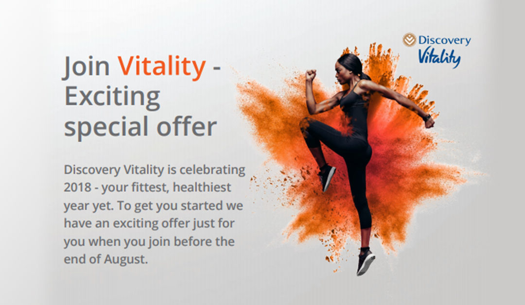 Join Vitality – Exciting special offer