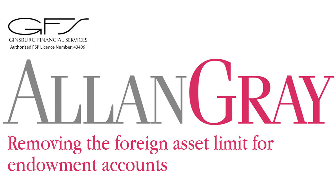 REMOVING THE FOREIGN ASSET LIMIT FOR ENDOWMENT ACCOUNTS