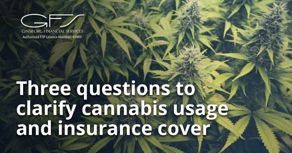 Cannabis and insurance