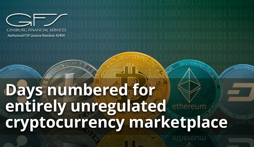 Days numbered for entirely unregulated cryptocurrency marketplace