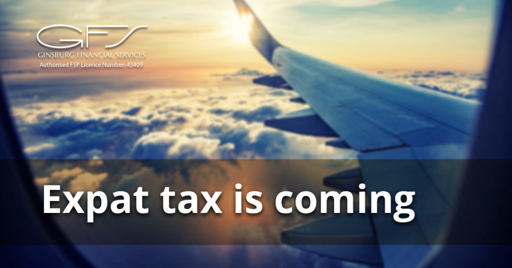 Expat tax is coming
