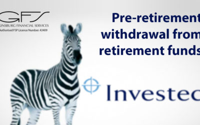 Pre-retirement withdrawal from retirement funds