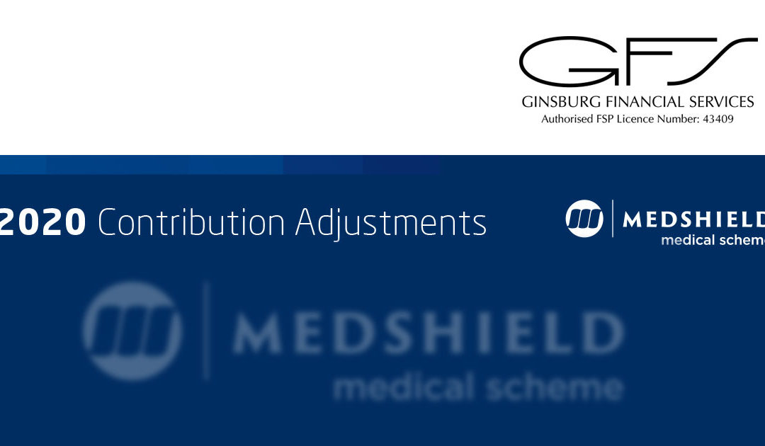 2020 Contribution Adjustments: Medshield