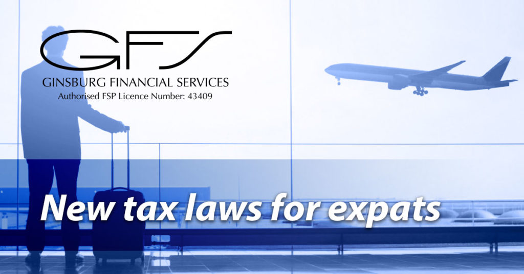 New tax laws for expats