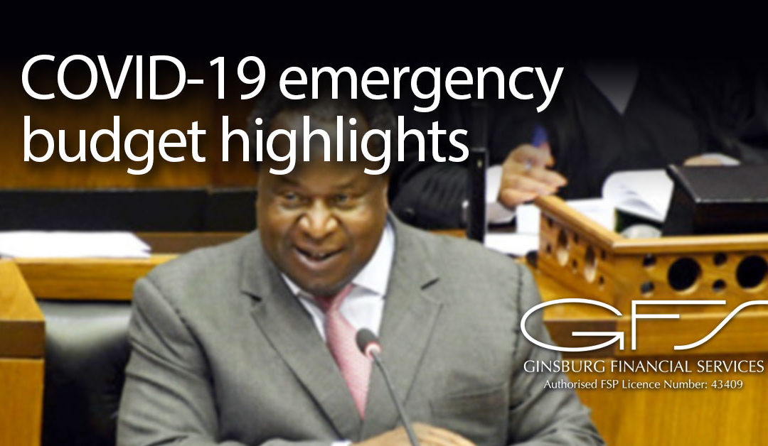 COVID-19 emergency budget highlights
