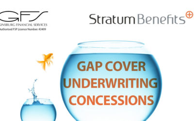 GAP COVER UNDERWRITING CONCESSIONS