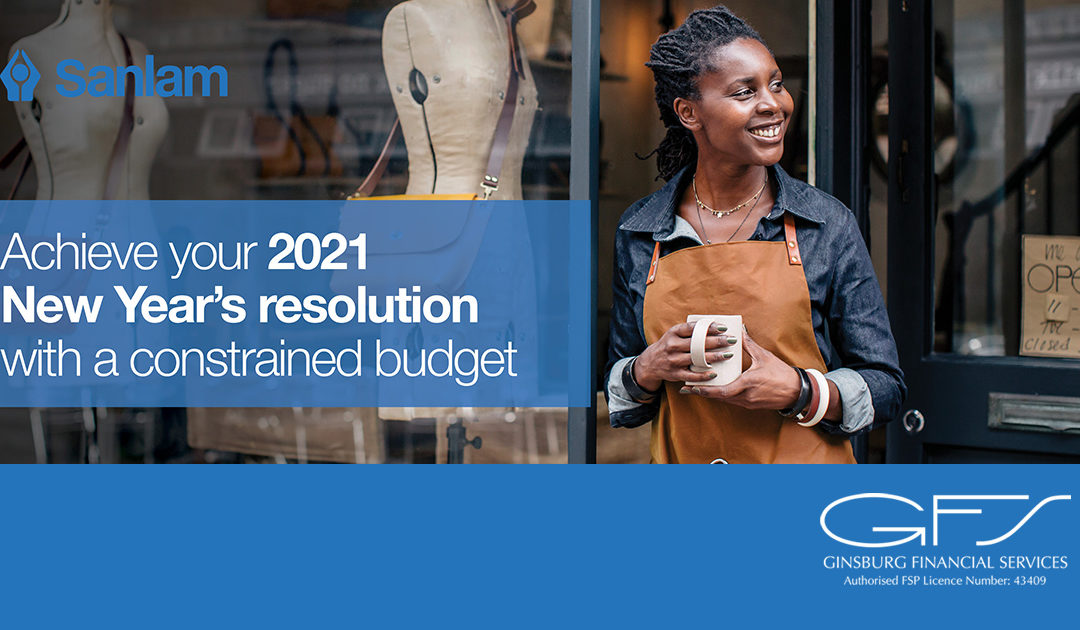 Achieve your 2021 New Year's resolution with a constrained budget